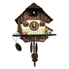 Alexander Taron Importer 403QM Black Forest Cuckoo Clock >>> You can get more details by clicking on the image.