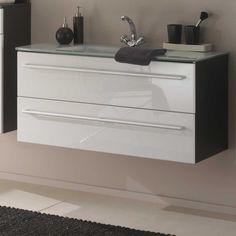 die besten 25 waschbeckenunterschrank mit schubladen ideen auf pinterest. Black Bedroom Furniture Sets. Home Design Ideas
