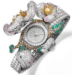 29 Vendôme - Bijoux et Haute Joaillerie : Giampiero Bodino montres à secret Mosaico, Primavera et Rosa dei Venti - Giampiero Bodino présente trois montres mystérieuses dissimulées dans trois spectaculaires bracelets de haute joaillerie