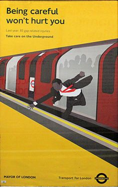 100 London Underground Posters | IAQ Graphic Design.