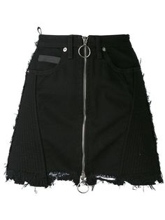 MARCELO BURLON COUNTY OF MILAN 'Ayelen' Mini Skirt. #marceloburloncountyofmilan #cloth #skirt