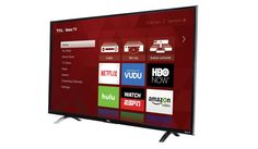 TCL 55UP130 55-Inch 4K Ultra HD Roku Smart LED TV    TCL         Available Screen Sizes   43″, 50″, 55″       Backlight Technology   LED, Direct-lit       Resolution   4K Ultra High Definition       Refresh Rate   120Hz CMI       Smart   Yes – Roku TV       HDMI, USB Ports   4, 1       Audio Output   Headphone Jack + Digital Optical       Free mobile/tablet app   ?       Premium Metallic Design, a..