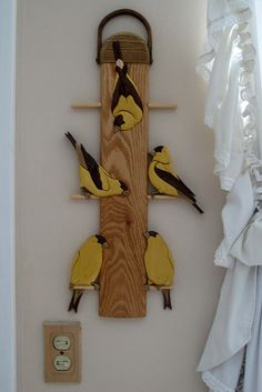 Intarsia Bird Feeder