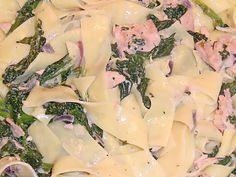 Spaghetti mit Lachs-Spinat Soße, ein schmackhaftes Rezept aus der Kategorie Fisch. Bewertungen: 3. Durchschnitt: Ø 3,6.