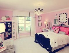 Perfect for a Teen Girl's Bedroom - Girly yet Mature