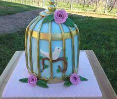 Vanilla sponge cake bird cage Vanilla Sponge Cake, Bird Cage, Sweet, Desserts, Vanilla Cake, Candy, Tailgate Desserts, Dessert, Bird Cages