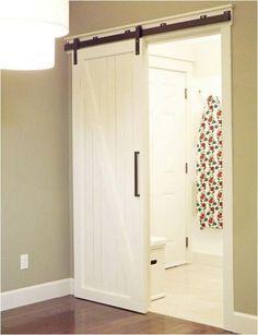 Barn door sliding door for-the-home