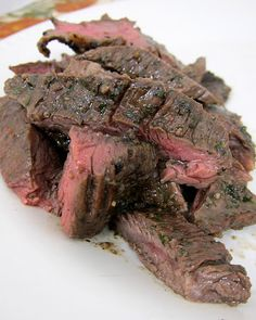 herbed grilled skirt steak