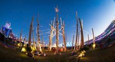 Starscraper by Gerard Minakawa at EDC Vegas Installation Art, Sailing Ships, Edc, Vegas, The Past, Scale, Fair Grounds, Skyline, Travel