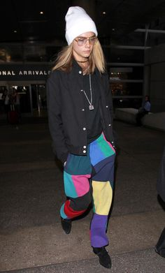 Cara Delevingne from The Big Picture: Today's Hot Pics  Cool Cara! The model keeps it cool and casual on the streets of Los Angeles.