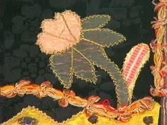 Forkle - Norsk Folkemuseum / DigitaltMuseum Norway, Dandelion, Plant Leaves, Textiles, History, Flowers, Beads, Traditional, Beading