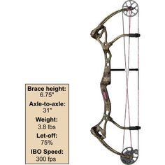 Bear® Archery Siren Bow at Cabela's