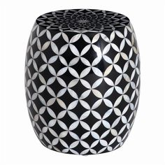 Black Mother of Pearl Stool, £199