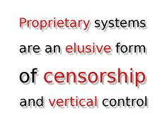 Proprietary systems by John LeMasney via 365sketches.org