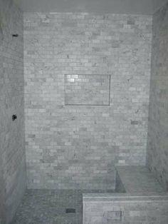 Marmor U Bahn Fliesen Dusche