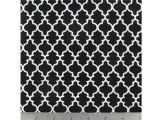 APT2-34 Black & White Lattice Fabric