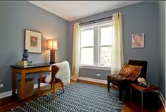 Benjamin Moore, Timberwolf (Saw this paint color in someone's home and had to ask for the name. So pretty!)