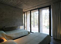 Concrete House in Mar Azul Forest by BAK Architects   KARMATRENDZ