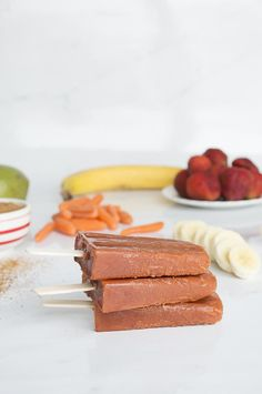 Peace Popsicles with a secret, extra healthy twist | thefirstyearblog.com