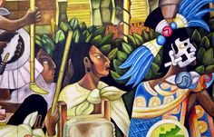 Wood Print featuring the digital art Puebla, Mexico Mural by Carlene Smith Wood Print, North America, Digital Art, Mexico, Wall Art, Artwork, Prints, Painting, Work Of Art