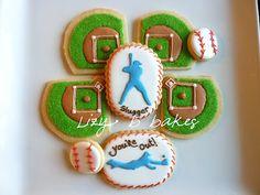 Baseball Cookies #baseball