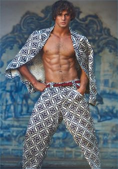 Made in Brazil magazine Marlon Teixeira photographed by Philippe Vogelenzang | men's fashion editorial fashion photography