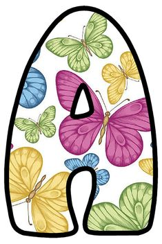 Alphabet Style, Alphabet Design, Alphabet And Numbers, Alfabeto Animal, Fancy Letters, Butterfly Party, Dahlia Flower, Monogram Fonts, Caligraphy