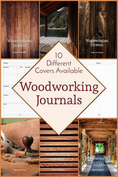 Plan your next woodworking project with the help of this note book, with a materials list and special pages for sketches to flesh out your ideas. Woodworking Journal, Woodworking Ideas, Project Planner, Graph Paper, Journal Notebook, The Help, Sketches, How To Plan, Books