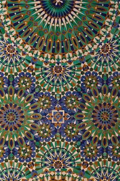 Islamic Art - love the colours