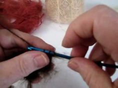 Tips on How to crochet a mohair wig cap for your doll (+playlist) waldorf doll hair tutorials