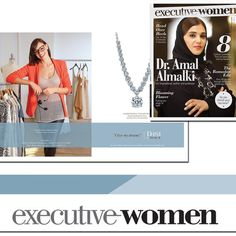 The beautiful DANI by Daniel K fashionista advertisement in Dubai's Executive Women magazine. The #DANIbyDK collection is available in Festival City Mall at the flagship boutique. #DANIbyDKboutiquedubai #jewelry #luxury #FestivalCity #Dubai #executive #women #magazine