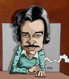 Drawing Cartoon Characters, Cartoon Drawings, Art Drawings, Famous Cartoons, Beautiful Drawings, My Man, Watercolor Art, Pop Art, Literature