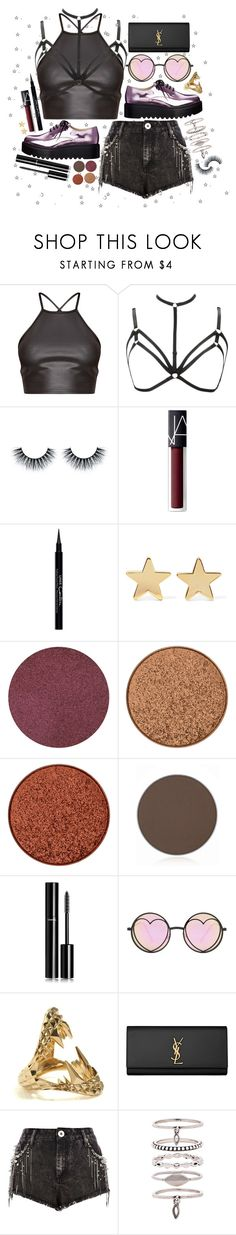 """""""Song Contest: Jason Derulo - Swalla"""" by lauren-beth-owens ❤ liked on Polyvore featuring NARS Cosmetics, Givenchy, Jennifer Meyer Jewelry, Anastasia Beverly Hills, Chanel, Betsey Johnson, Kasun, Yves Saint Laurent, River Island and Luv Aj"""