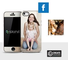 If you're a mom, you probably love to take photos of your kids. So why bother with a standard cover when you can create your own custom phone case? SkinIt is our favorite, despite the vaguely creepy name. You can upload your favorite image online, add text, and fully personalize your smartphone case.