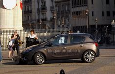 2015 Opel Corsa spotted undisguised in both 3- and 5-door versions