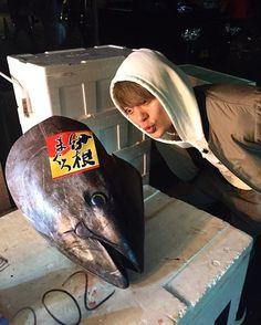 WEBSTA @ toru_10969 - 年越しの準備。at tsukiji fish market