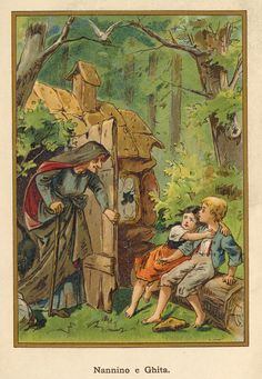 Hansel and Gretel another good witch less intimidating