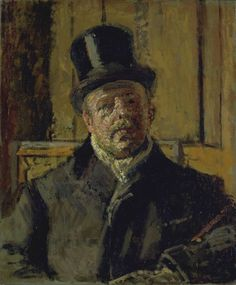 Walter Sickert (British, born Germany, 1860-1942), Jacques-Emile Blanche, c. 1910, oil on canvas, 610 x 508 mm.