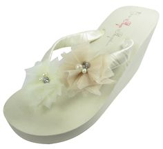 8188f125283ae9 18 Best Bridal Flip Flops on Amazon images