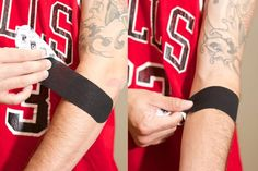 Taping Technique for Tennis Elbow