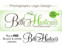 Your place to buy and sell all things handmade Camera Logo, Logo Fotografie, Logan, Order Business Cards, Watermark Design, Letterhead Design, Photography Logo Design, Design Fields, Photographer Branding