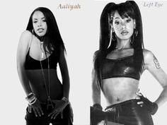 Aaliyah + Left Eye R.I.P