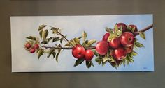 16x40 Oil on gallery canvas Daydream, Original Art, Oil, Watercolor, Canvas, Gallery, Artist, Painting, Design