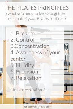 Pilates Principles   UrbanWellnes.com
