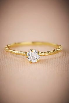 Branchette Diamond Ring by BHLDN    Perfect Wedding or Engagement Ring    Follow @KWHBridal