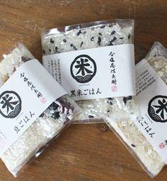 今塩屋佐兵衛の雑穀米*メール便不可* 10P01Nov14|ROOM - my favorites, my shop 好きなモノを集めてお店を作る Rice Packaging, Bakery Packaging, Packaging Design, Thai Design, Food Design, Client Gifts, Japanese Design, Label Design, Packing