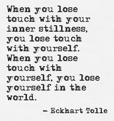 - eckhart tolle