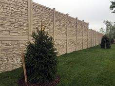 SimTek Ecostone Fence was used as a sound barrier wall for a community that backs up to a beltway. Simtek Ecostone was chosen because it  blocks 98% of direct sound with a sound transmission class (STC) rating of 26.  Simtek is an attractive, cost effective alternative to concrete sound walls.