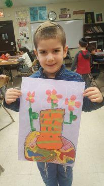 Kindergarten Matisse Still Life Art Project