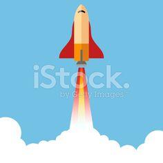 Rocket Illustration - By George Manga